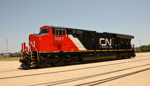 Cn to purchase 200 new locomotives from ge transportation for Discount motors fort worth tx
