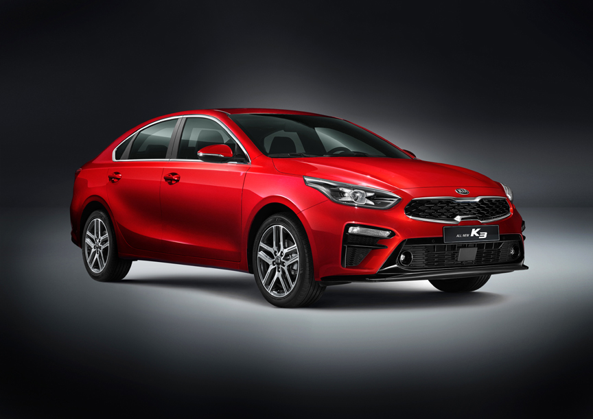 all new 2019 kia forte world debut at north american international auto show. Black Bedroom Furniture Sets. Home Design Ideas