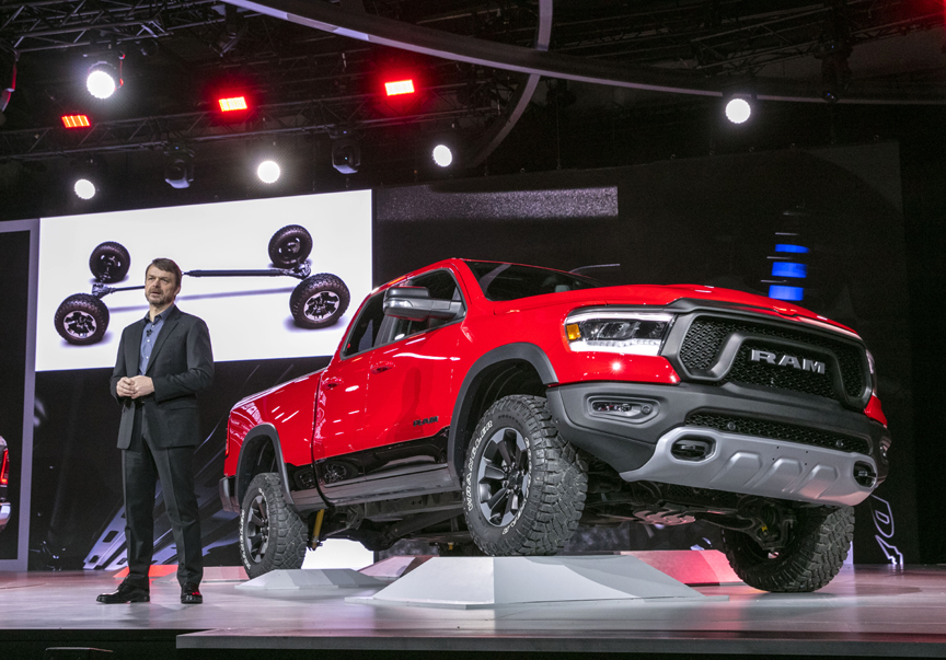 All New 2019 Ram 1500 Pick Up Introduced At 2018 Detroit