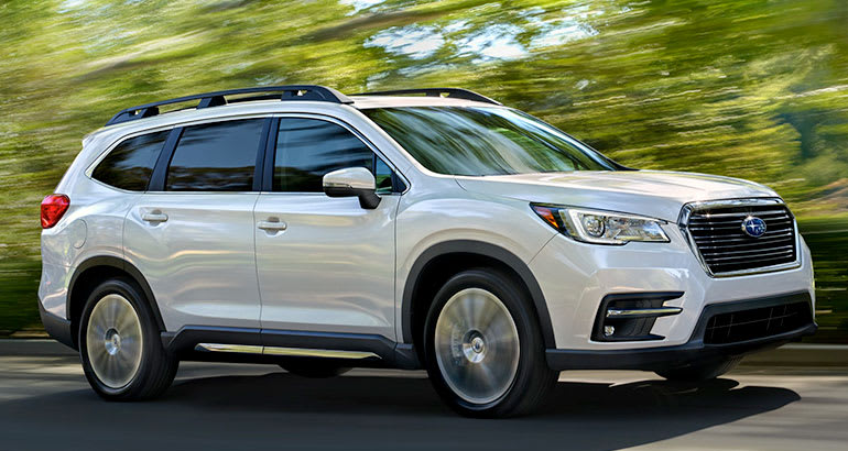 3rd Row Seating Suvs >> All-New 2019 Subaru Ascent Makes Canadian Debut in Montreal