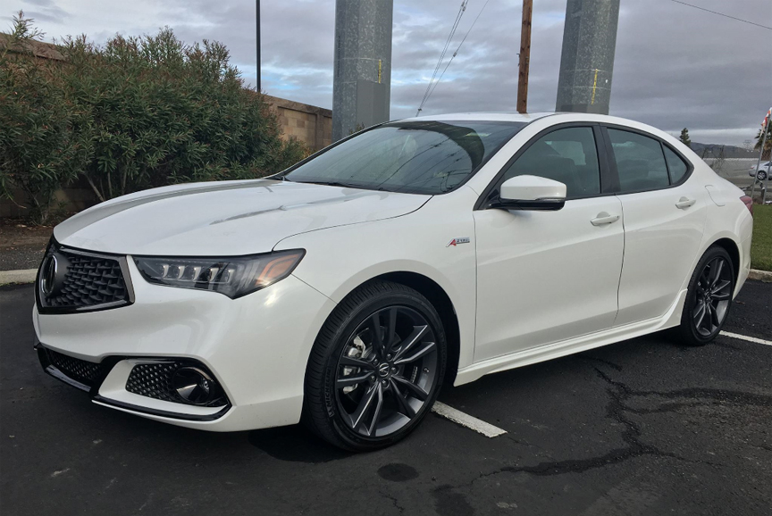 2018 Acura TLX A-Spec AWD Review +VIDEO