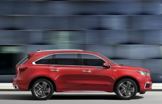 Acura MDX Sport Hybrid Competitor For Lexus RX At Dealers - Acura mdx competitors