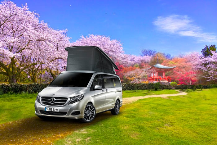 Kangei marco polo horizon mercedes benz recreational for Mercedes benz recreational vehicles