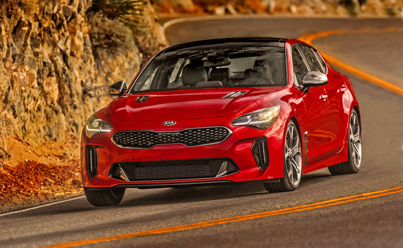 Kia stinger experience test drive the high performing for Kia motors irvine ca