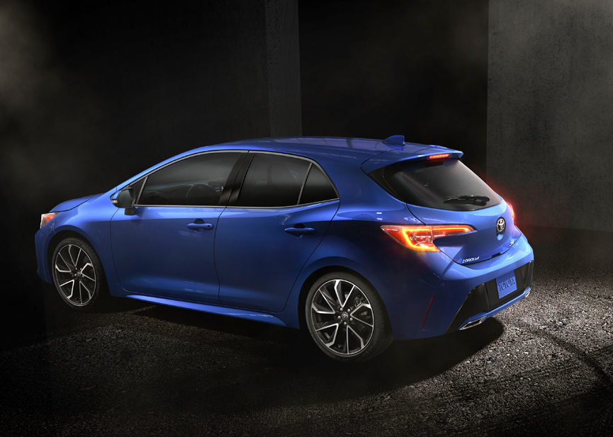 Hatch is Back! All-New 2019 Toyota Corolla Hatchback ...
