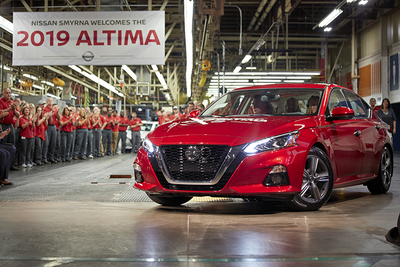Nissan Altima USA Plant Investment - We Believe!