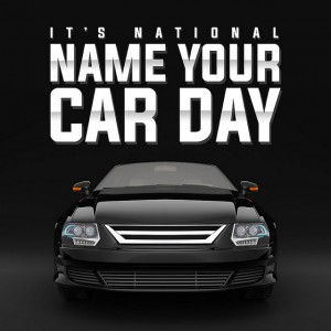 Image result for national name your car day