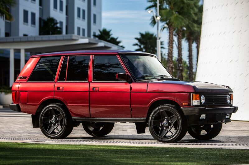 Ecd Automotive Design Delivers A Beautiful Range Rover Classic Powered By An Aggressive 6 2l V8