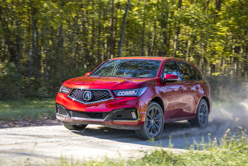 New Car Review 2019 Acura Mdx Awd A Spec Review By David Colman E15 Approved Video