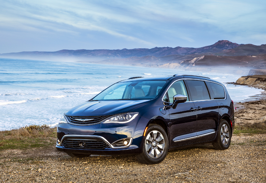 Chrysler Pacifica Hybrid Named Best Ev
