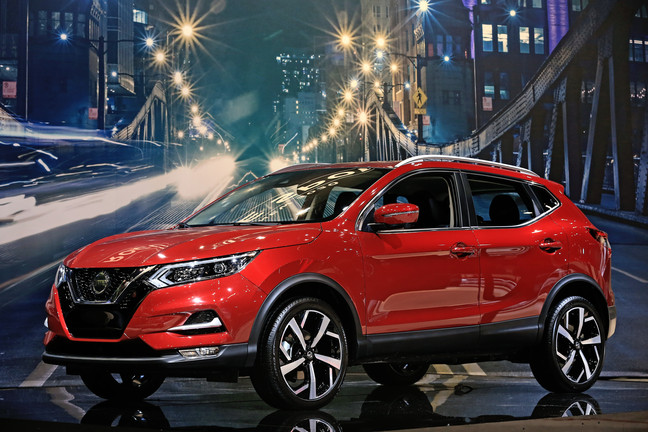 2020 Nissan Rogue Sport Previewed At 2019 Chicago Auto Show