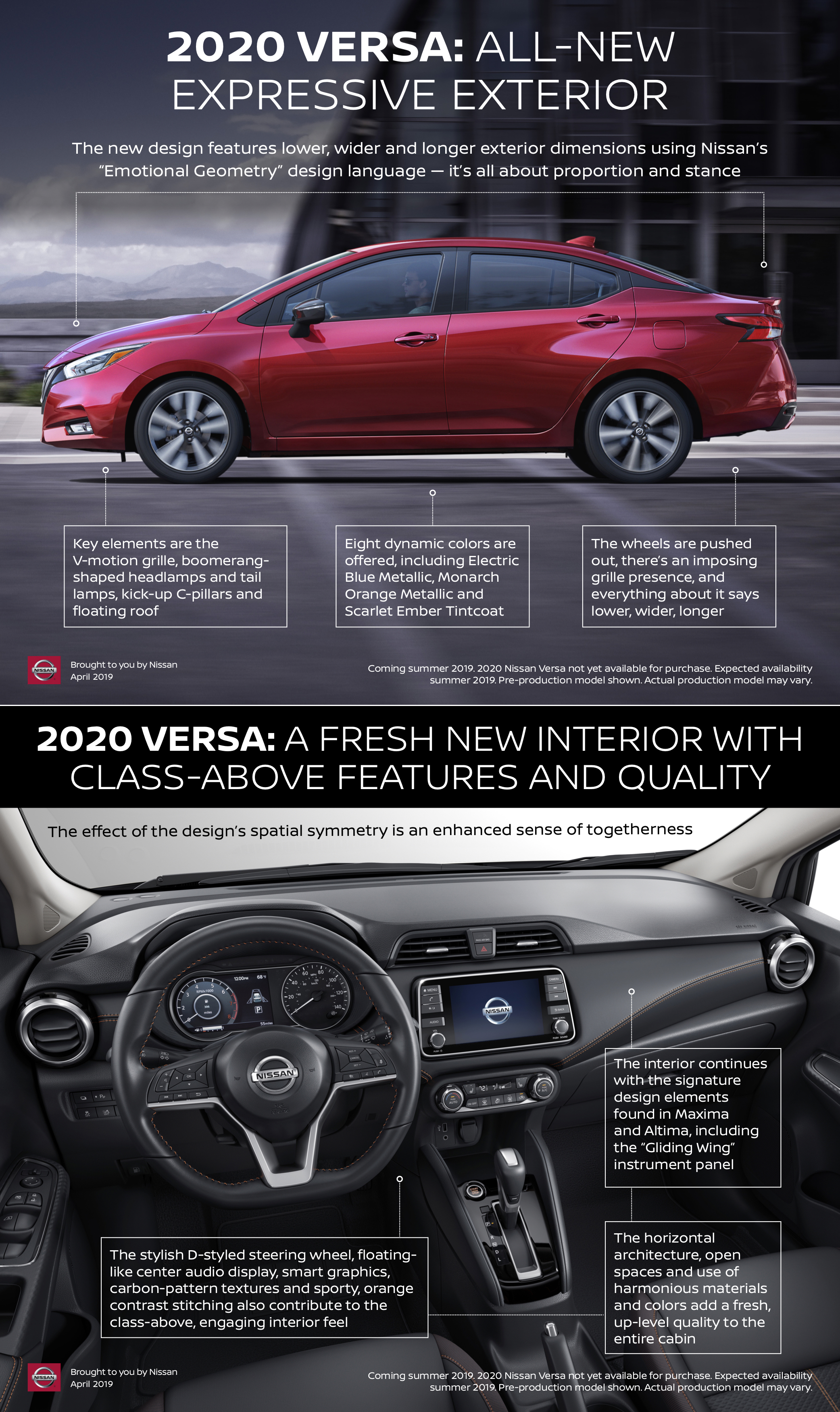 2020 Nissan Versa Unveiled In Palms