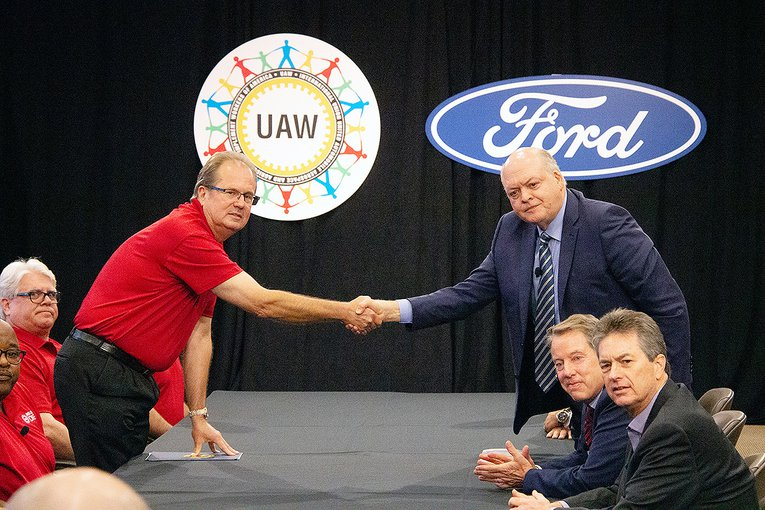 ford and uaw contract negotiations