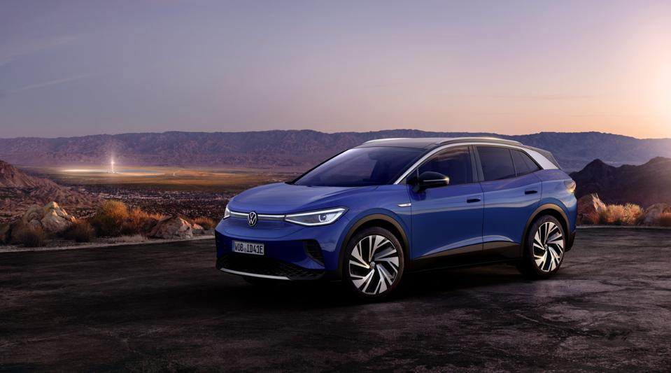 Volkswagen Unveils The All New 2021 ID 4 Electric SUV
