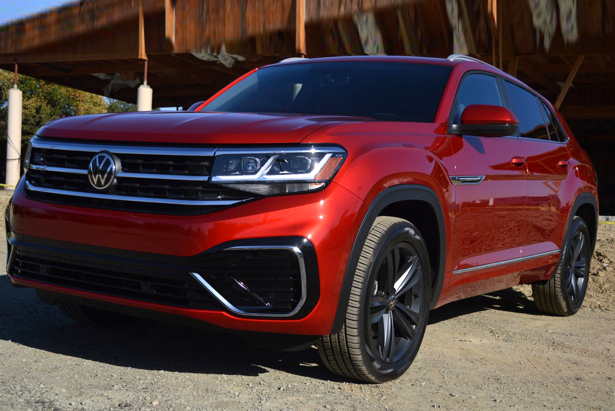 2020 Volkswagen Atlas Cross Sport Se With Technology R Line Review By David Colman Video
