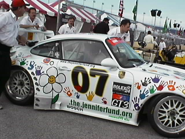 #07 The Jennifer Fund/Pirelli Porsche 911 (GT3)