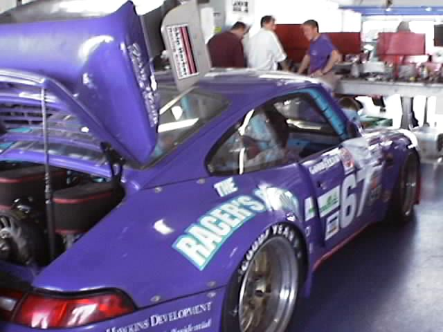 #67 The Racers Group Porsche 911 (GT3)