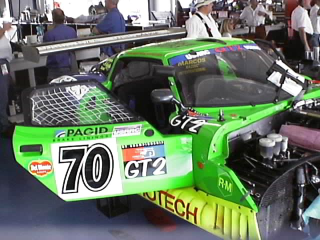 #70 Eurotech Marcos LM600 (GT2)