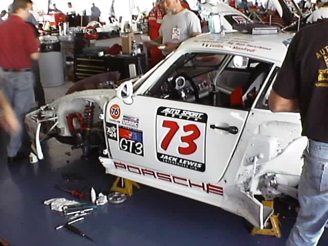 #73 Jack Lewis Enterprises/Auto Sport South Porsche 911 (GT3)