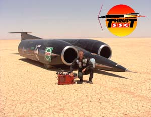 ThrustSSC Supersonic Race