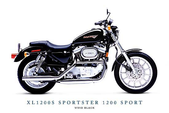 new motorcycle review harley davidson xl 1200s sportster. Black Bedroom Furniture Sets. Home Design Ideas