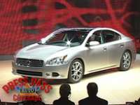 2008 NY Auto Show: Nissan Debuts Maxima, Infiniti FX, and Denki Cube - VIDEO ENHANCED