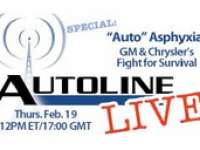 "LIVE AutoLine Detroit Video: ""Auto"" Asphyxia: GM and Chrysler's Fight for Survival - TODAY at 12 Noon EST"