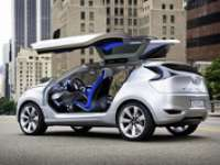Hyundai Nuvis Hybrid EV Concept Makes World Debut at 2009 NY Auto Show