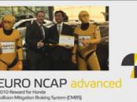 First Euro NCAP Advanced Rewards Ten Car Safety Technologies - VIDEO STORY