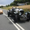 Historics - Derek Bell And Bentley Inspired By 'Mission Motorsport' Team At Le Mans Classic