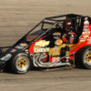 Tracy Hines Opens the 2013 USAC Midget Season at New Smyrna Speedway