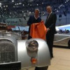 Muirhead Leather Supports Morgan At Geneva
