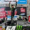 Kyle Busch Takes Bristol Checkered Flag