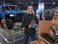 Jeep Wrangler, Mopar's Most Accessorized Vehicle, Recognized as SEMA's 'Hottest 4x4-SUV' for Fifth Consecutive Year