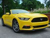 2015 Ford Mustang Convertible Review by Larry Nutson +VIDEO