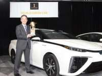 Fuel-Cell Electric Vehicle Toyota Mirai Wins 2016 World Car Of The Year Green Car