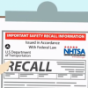 NHTSA RECALL ROUNDUP : Week Of May 31 - June 6, 2016