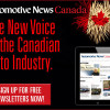 Launch of Automotive News Canada Gives Voice to Canadian Automotive Industry