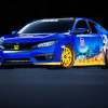 "Honda Debuts Custom-Designed ""Sonic Civic"" at Comic-Con"