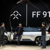 Faraday Future Unveils Electric Vehicle in Las Vegas