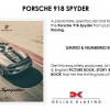 Re. A Thrilling Tale of the Porsche 918 Spyder