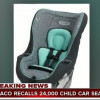 NHTSA RECALL: Graco Child Seat