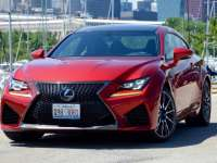 2017 Lexus RC F Race on Sunday; Drive to Work on Monday - 2017 Lexus Review By Larry Nutson