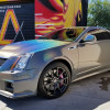 A Cadillac CTS-V's Journey to a Psychedelic Galaxy Makeover at Apex Customs