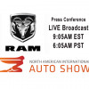 WATCH LIVE From 2018 NAIAS Detroit - RAM Press Conference +VIDEO