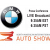 WATCH LIVE From 2018 NAIAS Detroit - BMW Press Conference +VIDEO