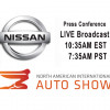 WATCH LIVE From 2018 NAIAS Detroit - Nissan Press Conference +VIDEO