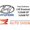 WATCH LIVE From 2018 NAIAS Detroit - Hyundai Press Conference +VIDEO