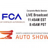 WATCH LIVE From 2018 NAIAS Detroit - Fiat-Chrysler Media Session #1 +VIDEO