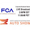 WATCH LIVE From 2018 NAIAS Detroit - Fiat-Chrysler Media Session #2 +VIDEO